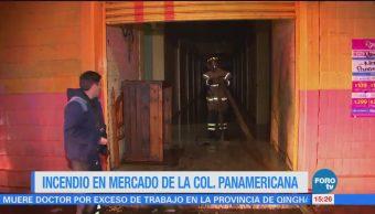 Incendio Mercado Colonia Panamericana Gam
