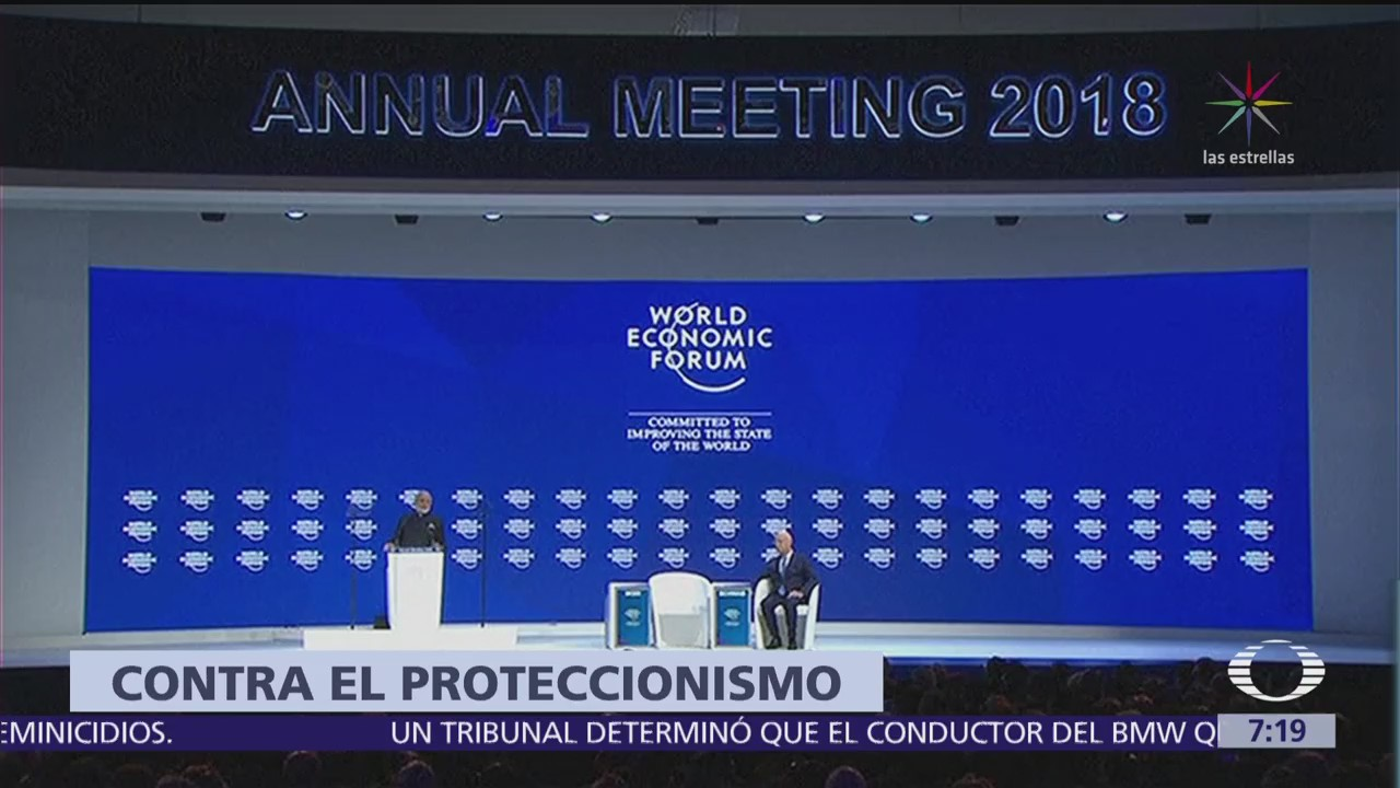 Inicia la edición 48 del Foro Económico Mundial en Davos