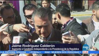 Jaime Rodríguez recorre la Plaza Bicentenario en Zacatecas
