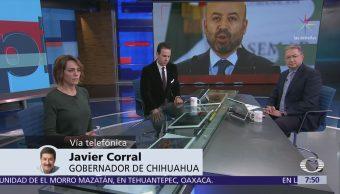 Javier Corral: Navarrete Prida pidió solicitar el traslado de Alejandro Gutiérrez