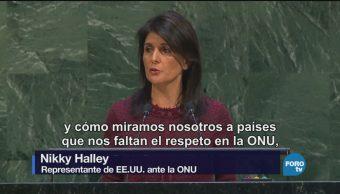 Administración Trump Relaciones ONU