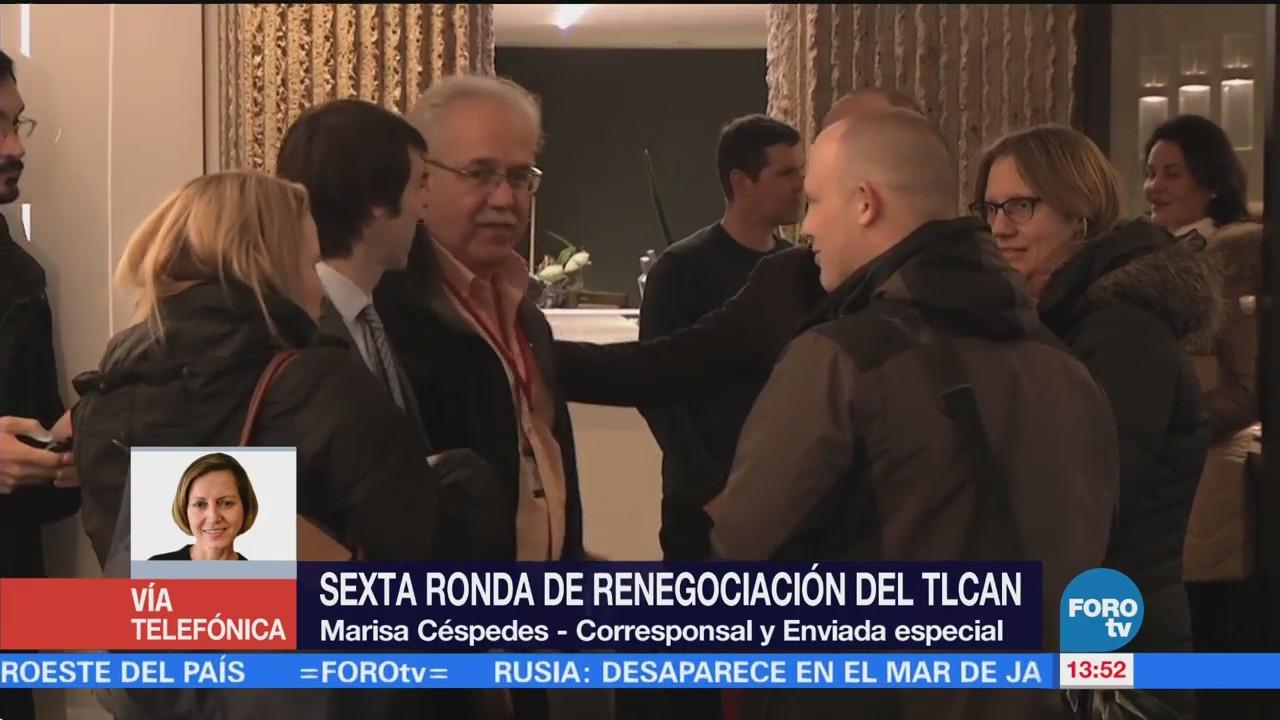 La sexta ronda de renegociación del TLCAN es crítica para acuerdos