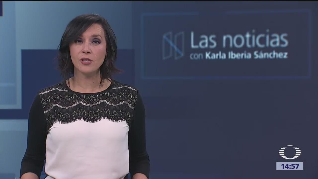 Las Noticias, con Karla Iberia: Programa del 31 de enero de 2018