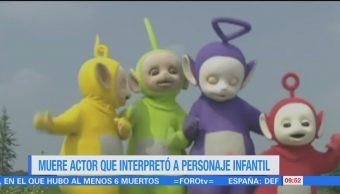 #LoEspectaculardeME: Muere actor que interpretó a personaje infantil de 'Teletubbies'