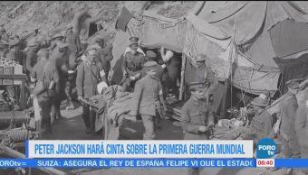 #LoEspectaculardeME: Peter Jackson hará cinta sobre la Primera Guerra Mundial