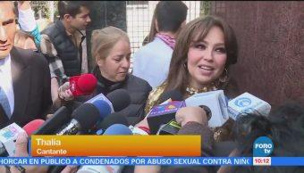 #LoEspectaculardeME: Thalía quiere participar en concierto de Timbiriche