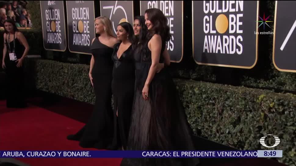 Los Globos de Oro, teñidos de negro por el acoso sexual