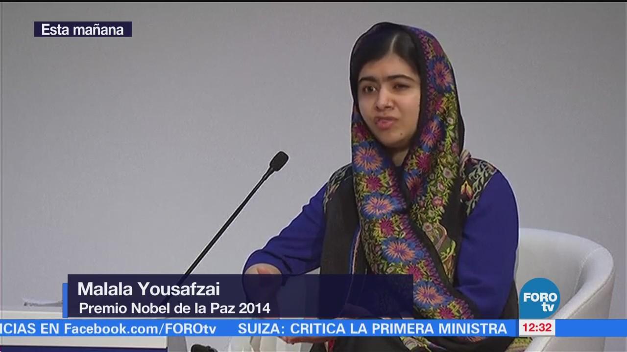 Malala resalta importancia de otorgar a niñas el derecho a la educación