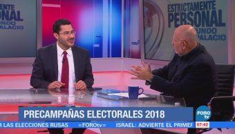 Martí Batres: Hay mejores condiciones para el triunfo de Morena