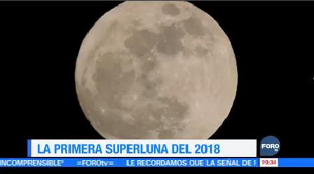 Nasa Difunde Imágenes Súper Luna Iniciar 2018