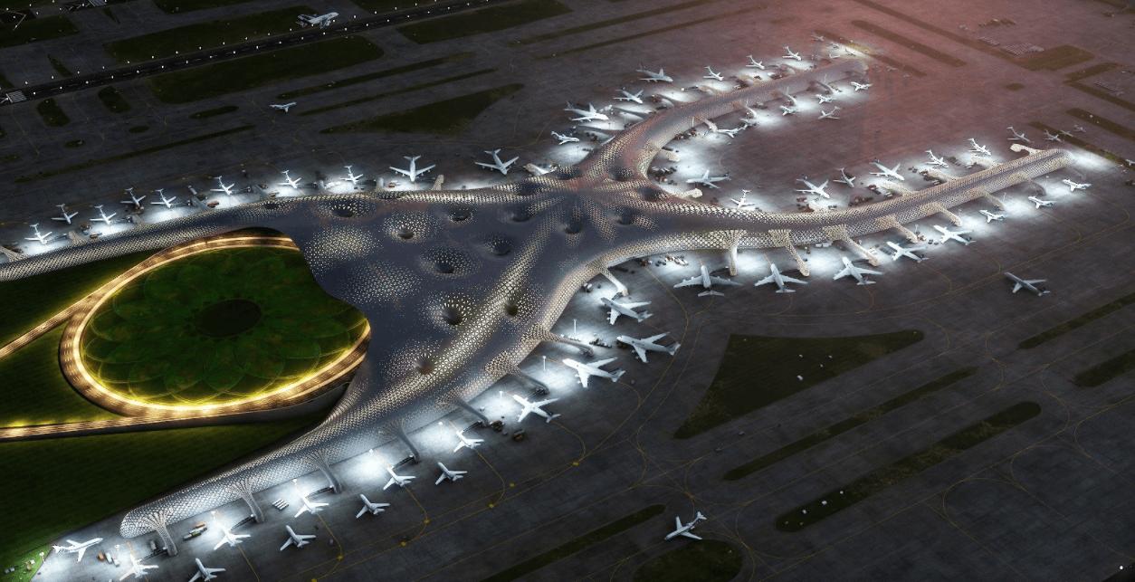 Así será Nuevo Aeropuerto Internacional Ciudad México