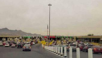 paisanos saturan puentes fronterizos chihuahua y tamaulipas fiestas fin ano