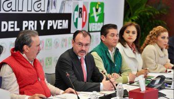 No se negociará TLCAN a cambio de agentes armados: Videgaray
