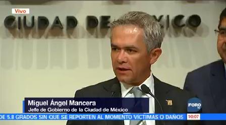 Reportan 59 Casos Influenza Cdmx Miguel Ángel Mancera