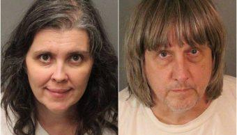 Foto: Louise Anna Turpin y David Allen Turpin fueron arrestados por la Policía de California