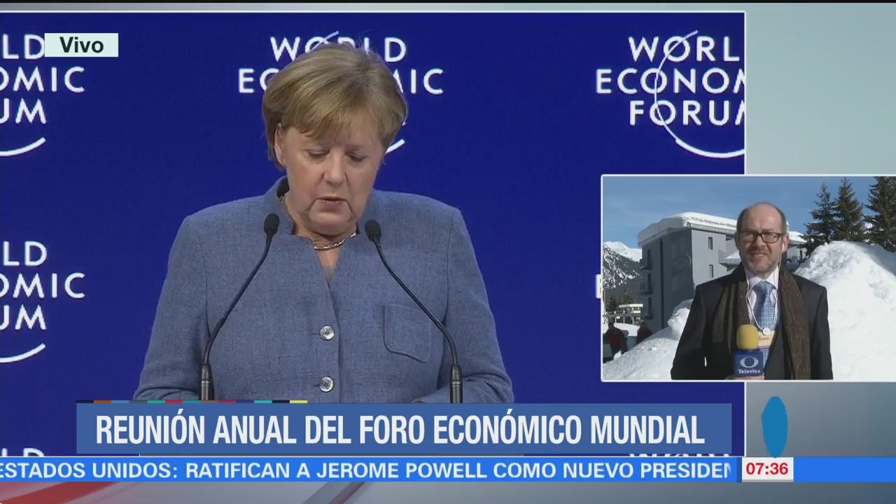 Reunión Anual del Foro Económico Mundial en Davos, Suiza