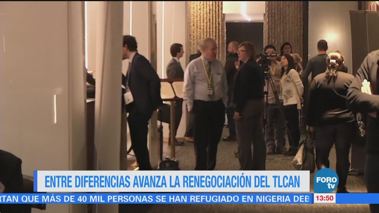 Sexta ronda de la renegociación del TLCAN