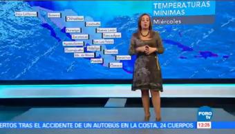 Tiempo Raquel Méndez Esperan Temperaturas Bajo Cero