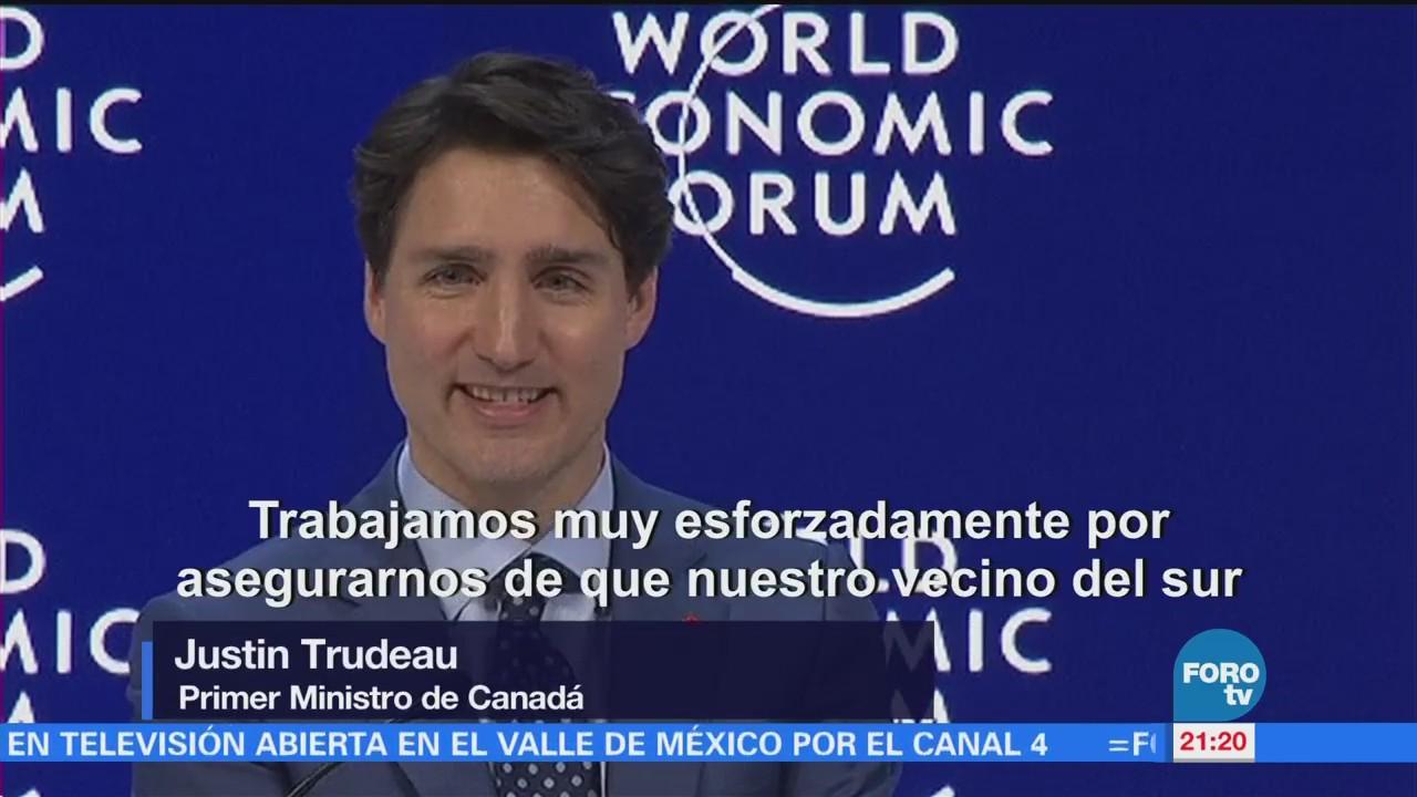 Trudeau Trata Convencer Trump Sobre Beneficios Tlcan