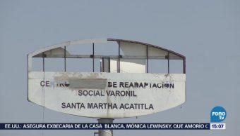 Trasladan 160 Reos Santa Martha Acatitla Reclusorio Norte