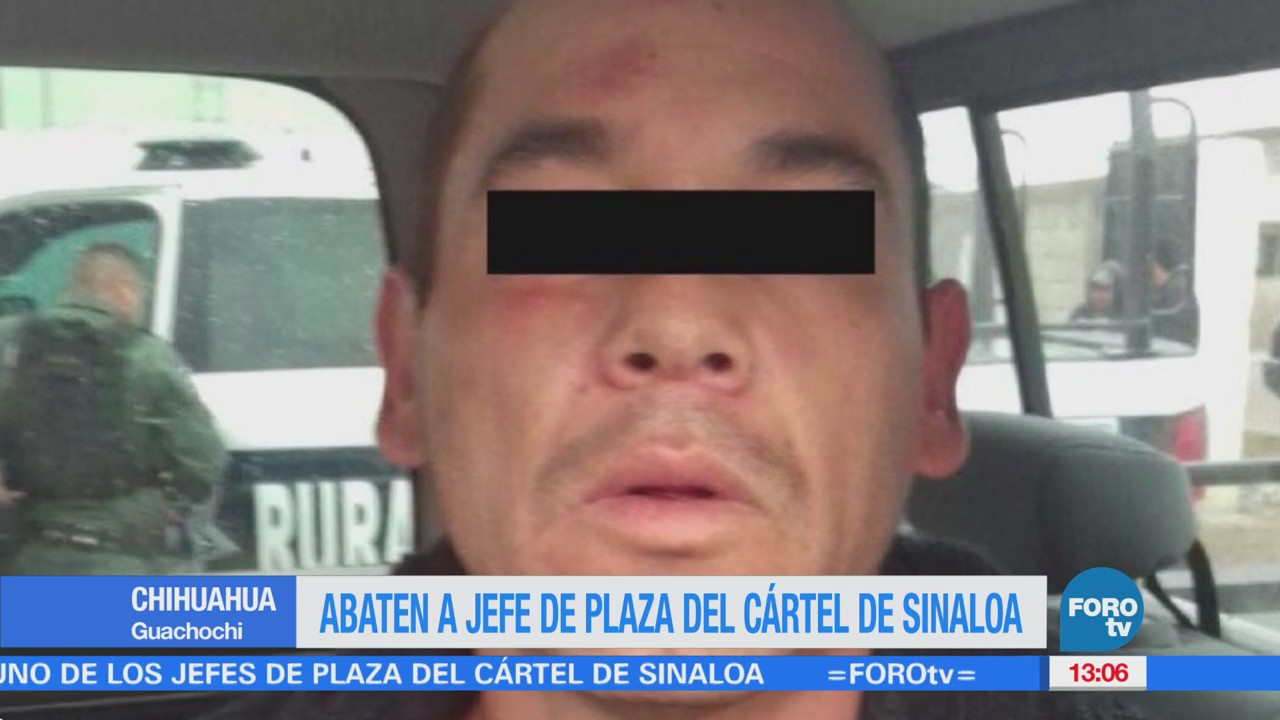 Abaten a jefe de plaza del Cártel de Sinaloa en Chihuahua