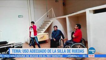Agenda discapacidad: Uso correcto de la silla de ruedas