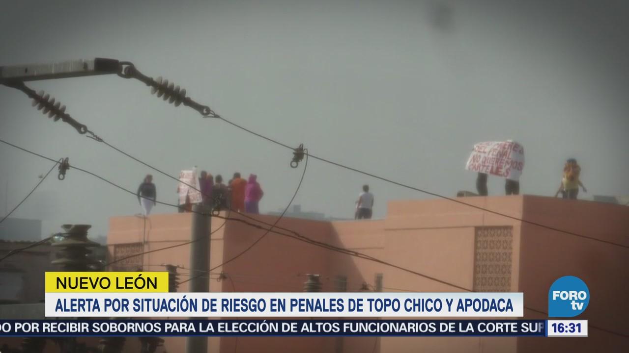 Alerta Situación Riesgo Penales Topo Chico Apodaca