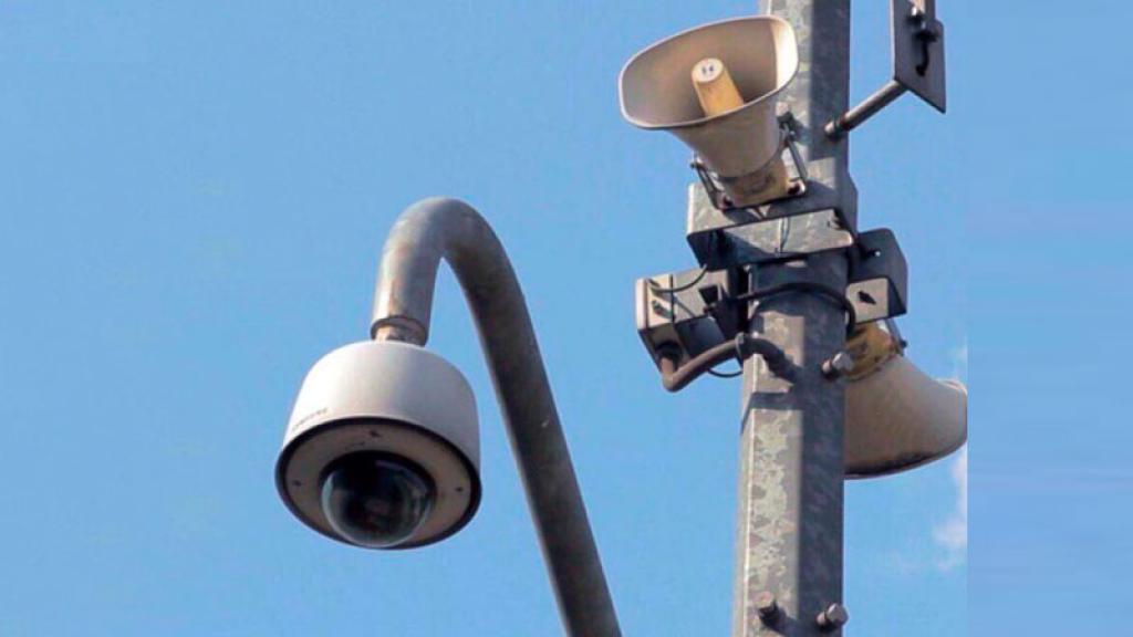 Foto: En la Ciudad de México opera un sistema de altavoces para que suene la Alerta Sísmica, el 19 de septiembre de 2019 (Tumblr)