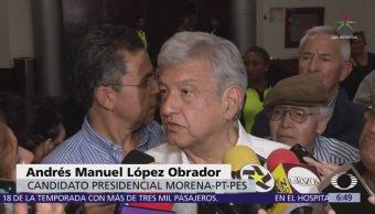 AMLO condena a Televisa por difundir columna del WSJ contra Alfonso Romo