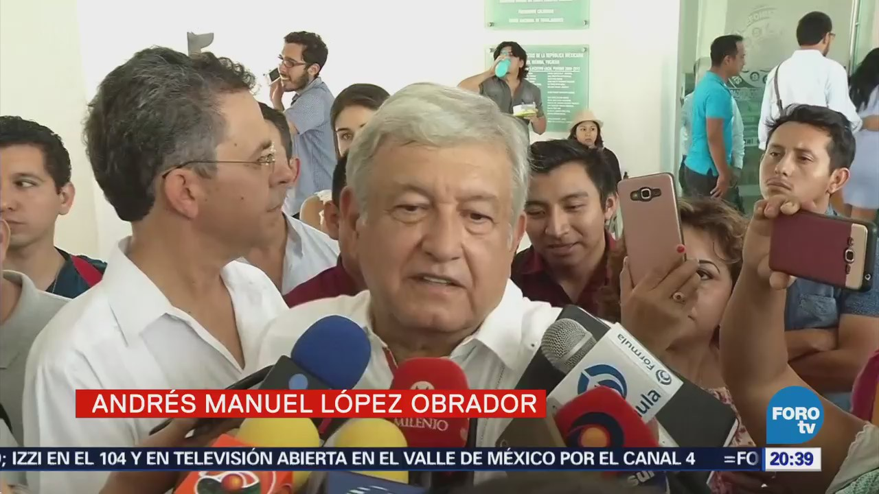 AMLO encabezó reunión con estructura de Morena en Yucatán