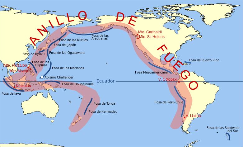 ¿Actividad sísmica en el Anillo de Fuego anuncia terremoto masivo?