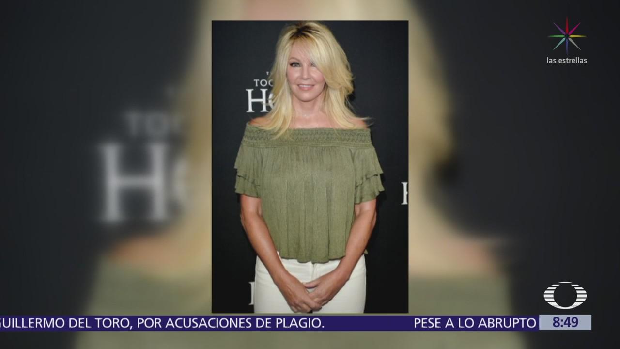 Arrestan a Heather Locklear por presunta violencia doméstica