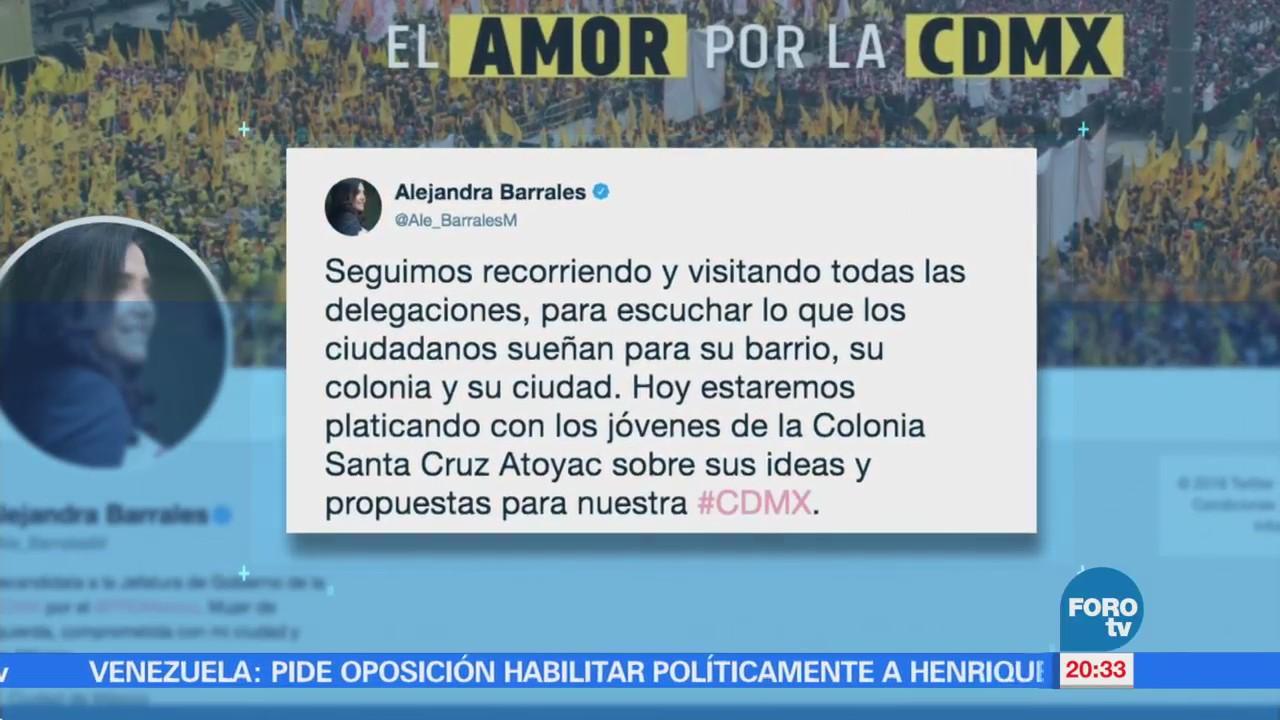Barrales se reúne con jóvenes en Santa Cruz Atoyac