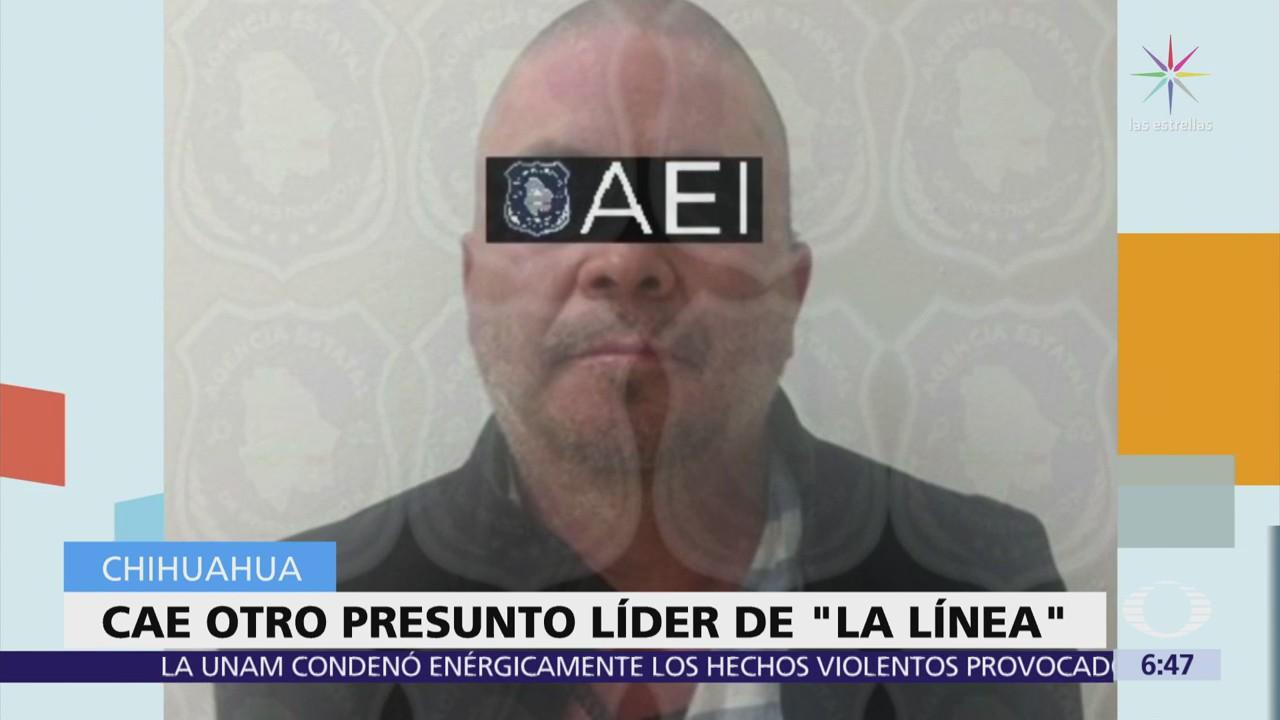 Cae líder de 'La Línea', brazo armado del Cártel de Juárez