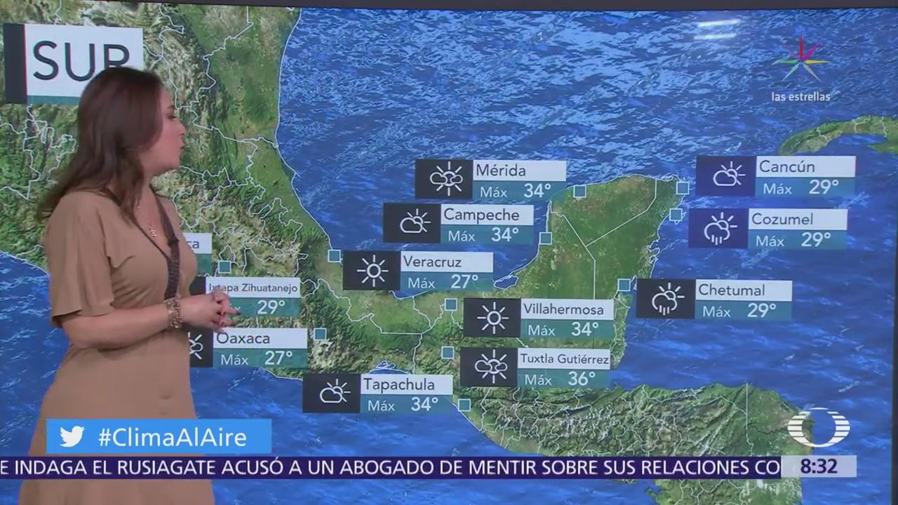 Clima Al Aire: Prevén cielo nublado en la Ciudad de México