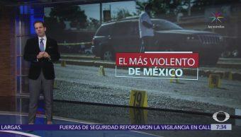 Colima es primer lugar en homicidios en México