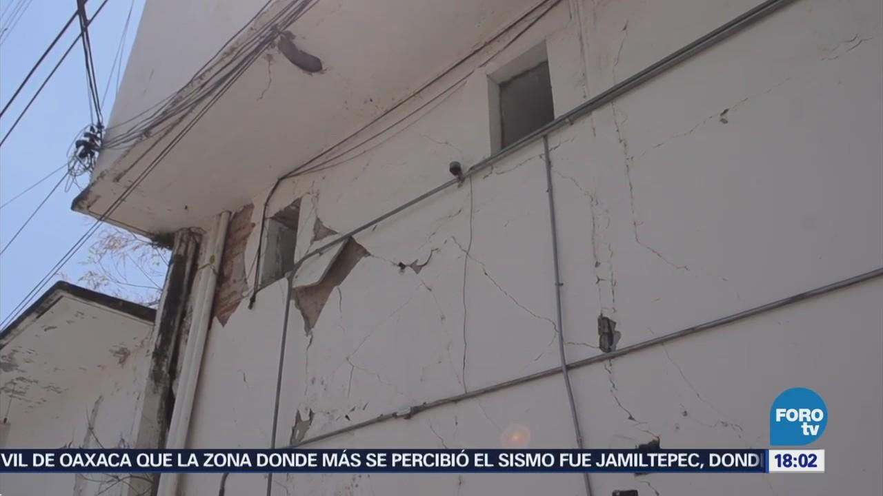 Continúa Recuento Daños Tras Sismo Oaxaca
