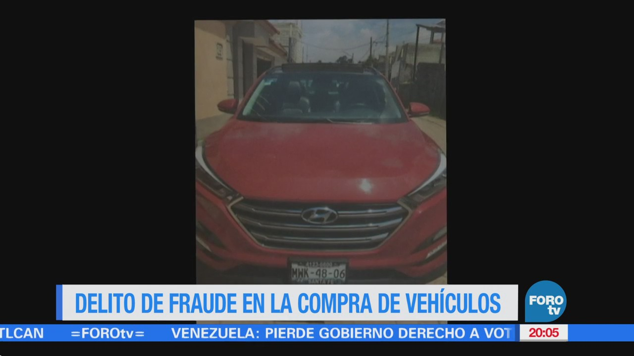 Delito de fraude en la compra de vehículos