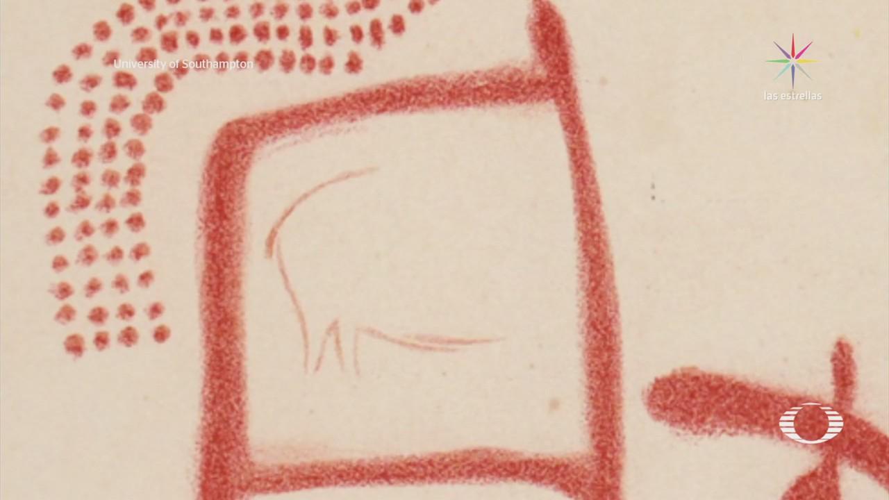 Descubren pinturas rupestres hechas por neandertales