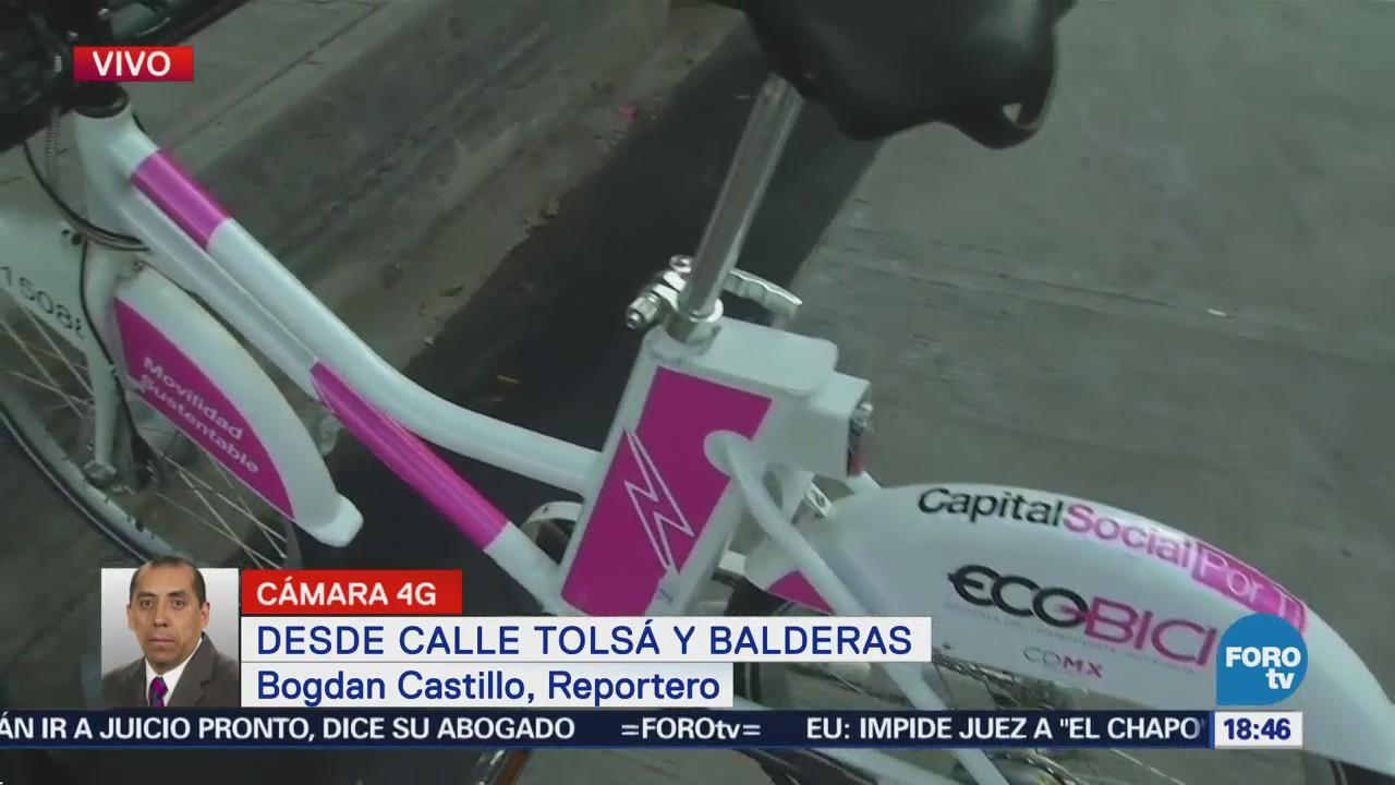 Ecobici se moderniza con bicicletas eléctricas