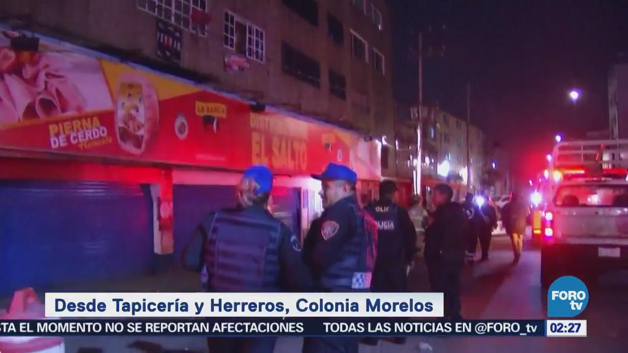 Edificio de la colonia Morelos presenta daños tras sismo en la CDMX