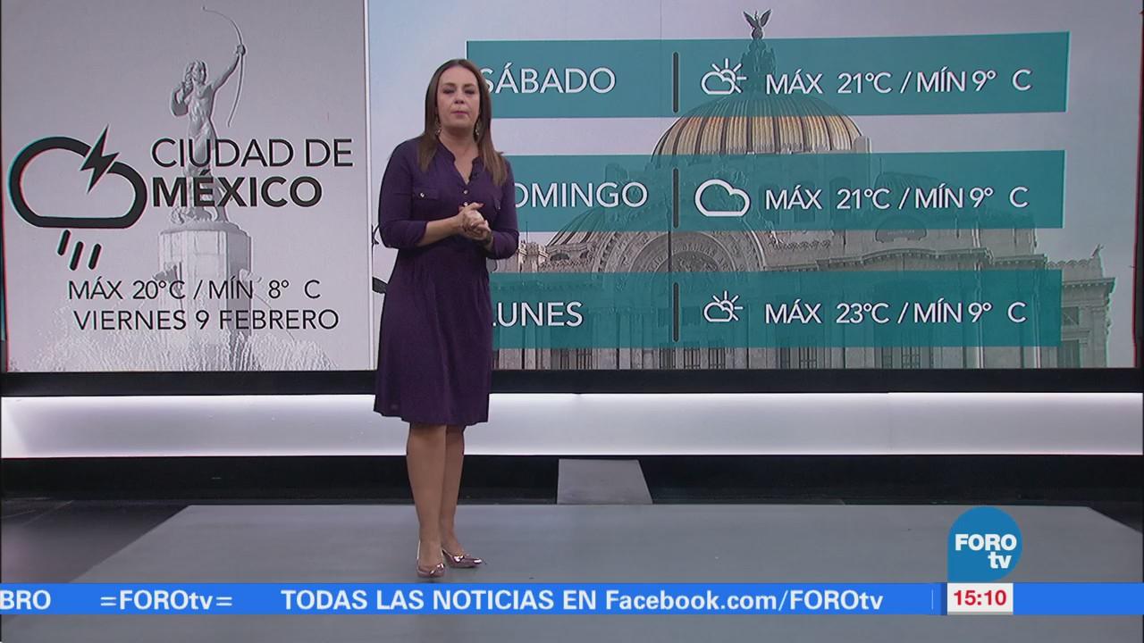 El Clima 'A las Tres' con Raquel Méndez