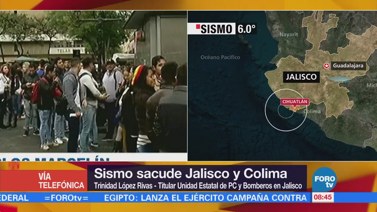 Alerta Zona Costera Jalisco Tras Sismo