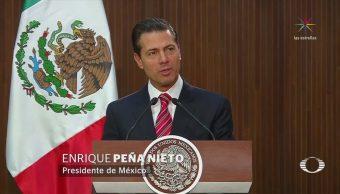 EPN encabeza ceremonia por el aniversario de la Constitución