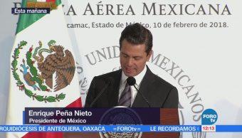 Epn Encabeza Desayuno 103 Aniversario Fuerza Área Mexicana