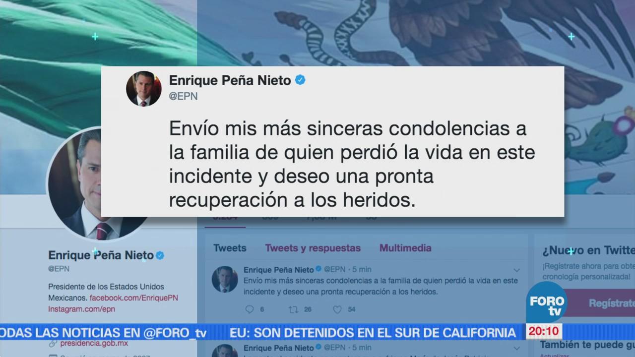 EPN ofrece sus condolencias por accidente de caravana e \'Marichuy ...