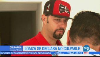 Esteban Loaiza se declara no culpable por posesión de drogas