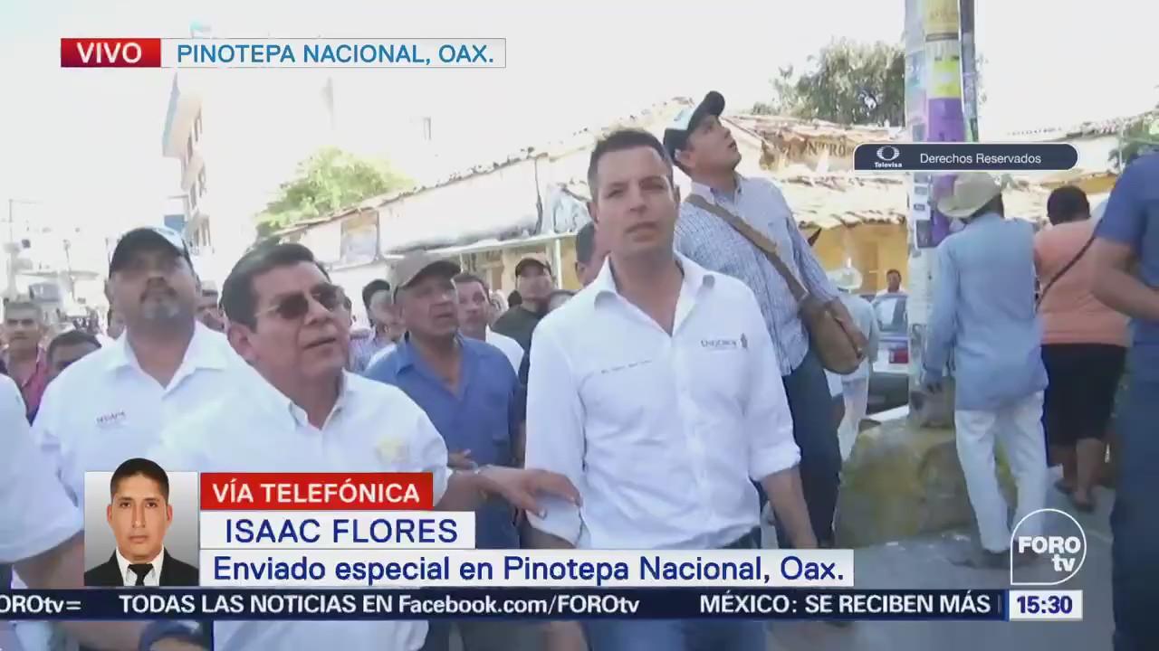 Gobernador Oaxaca Realiza Recorrido Pinotepa Nacional