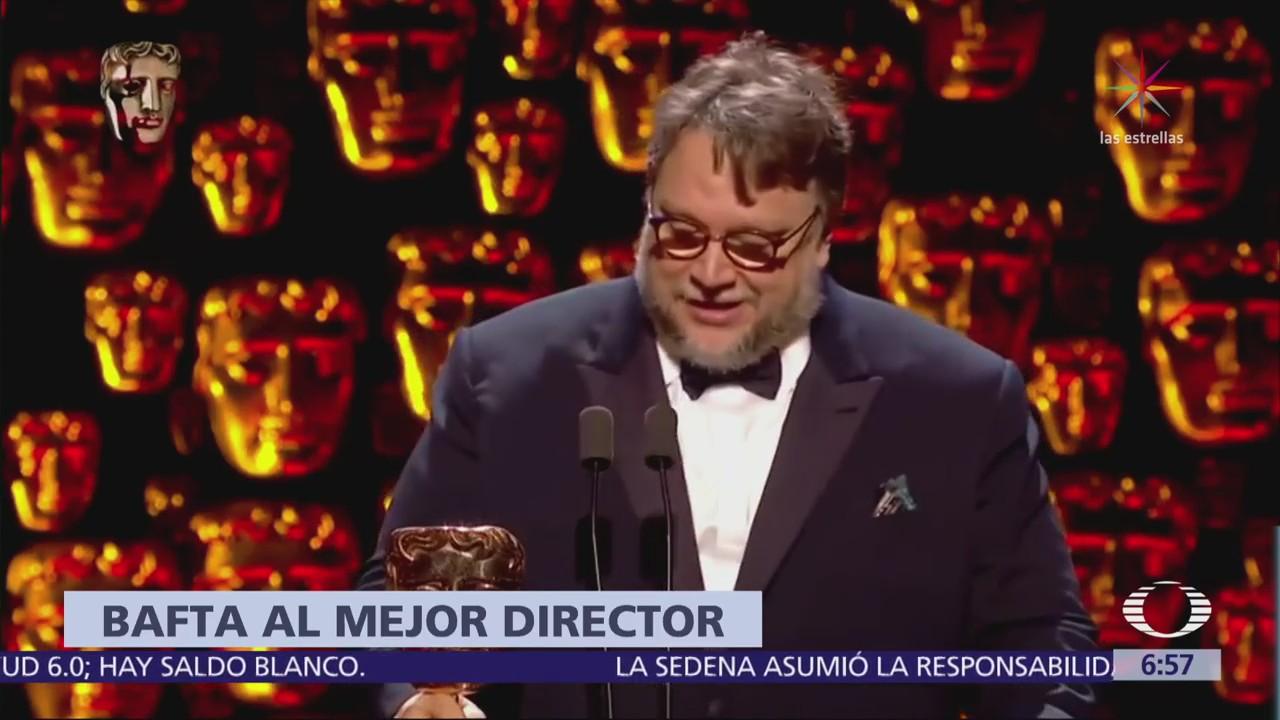 Guillermo del Toro gana BAFTA como director por 'La Forma del Agua'