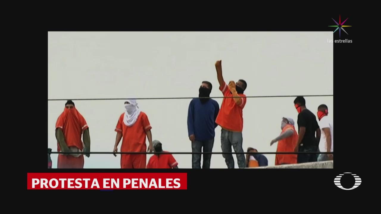 Internos protestan en penales de Nuevo León